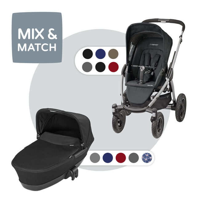 Maxi-Cosi Mura Plus 4 compleet - Raven Black