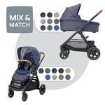 Maxi-Cosi Adorra met Oria reiswieg - Sparkling Blue