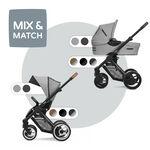 Mutsy Evo Bold compleet - Pebble Grey (Bold)