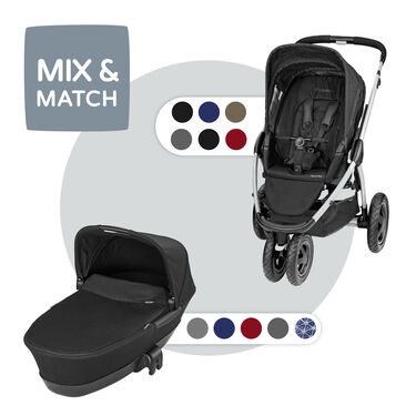 Maxi-Cosi Mura Plus 3 compleet - Raven Black