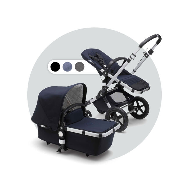 Bugaboo Cameleon 3 Plus Classic compleet - Dark Navy Blue