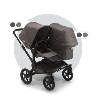 Bugaboo Donkey3 Mineral Duo compleet - Black/ Taupe