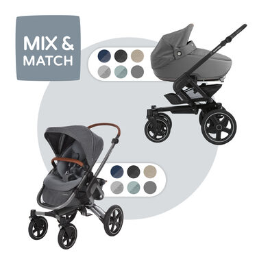 Maxi-Cosi Nova met Jade reiswieg - Sparkling Grey