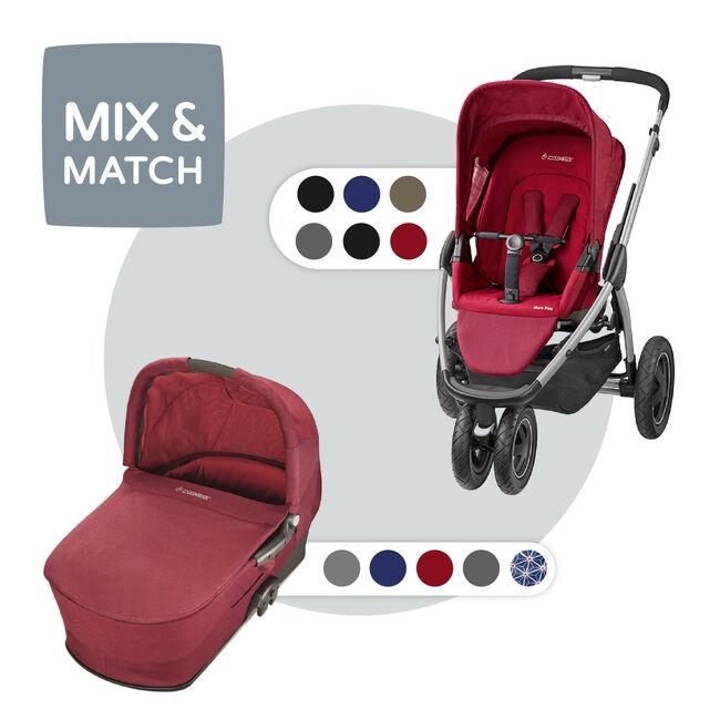 Maxi-Cosi Mura Plus 3 compleet - Red