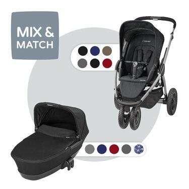 Maxi-Cosi Mura Plus 3 compleet - Black