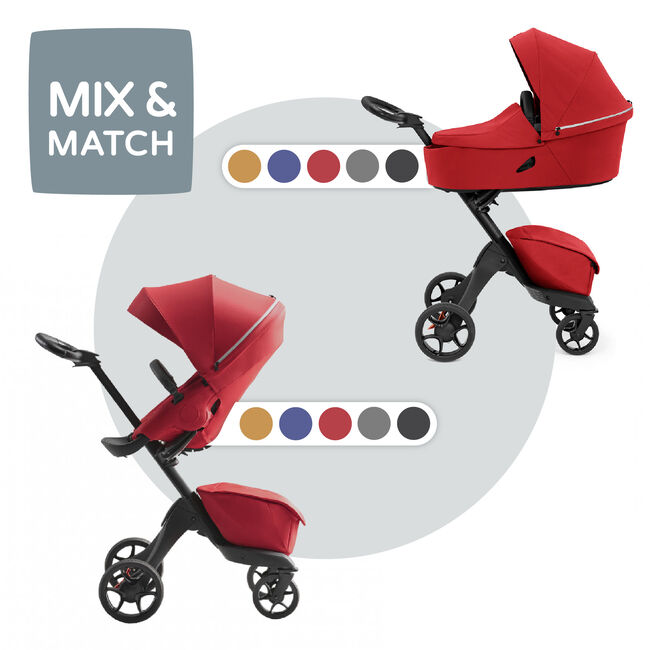Stokke Xplory X compleet - Ruby Red