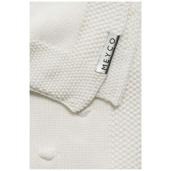 Meyco wiegdeken - Off-White