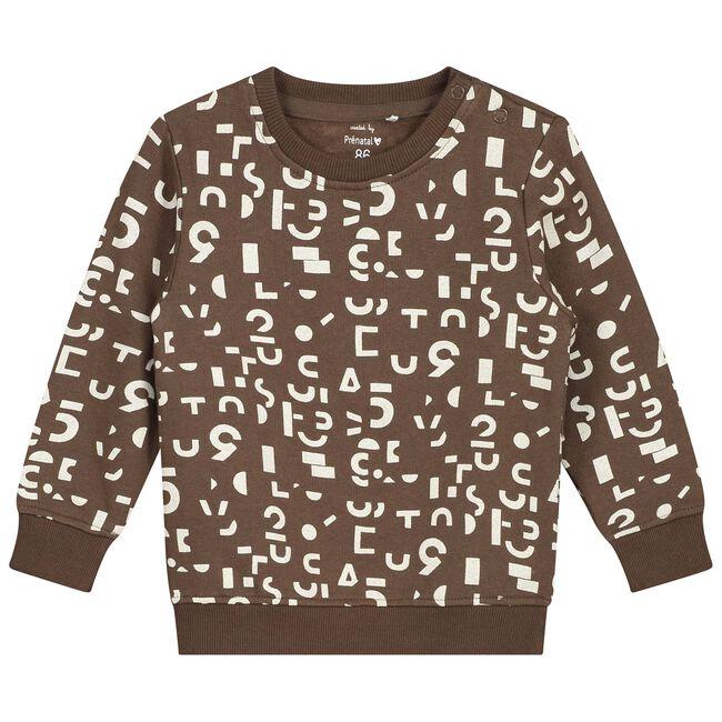 Prénatal baby jongens sweater - Brown