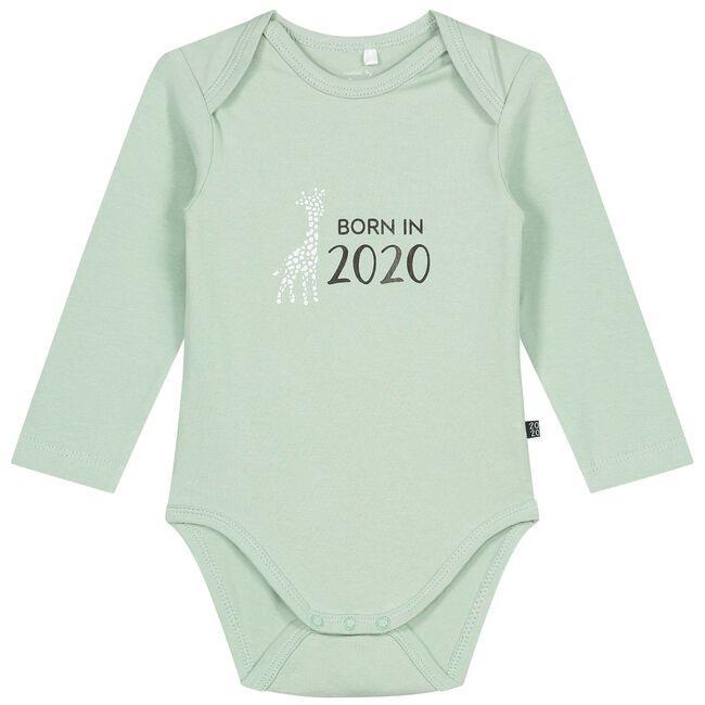 Prenatal romper - Light Mint Green