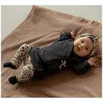 Prenatal newborn meisjes haarband - Orange Brown
