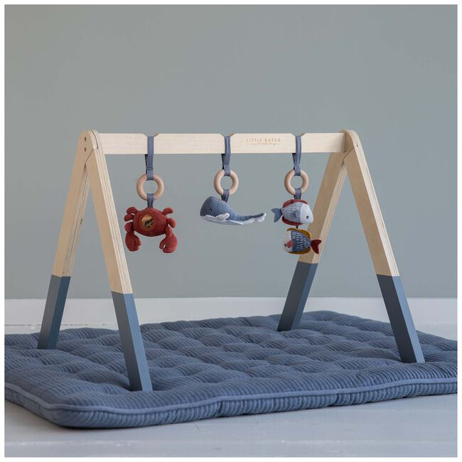 Little Dutch houten babygym Ocean - Blue