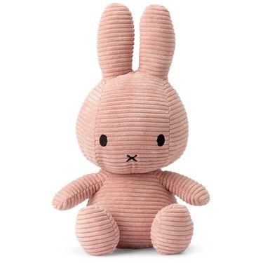 Nijntje knuffel corduroy 33cm - Pink