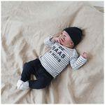 Prénatal newborn jongens shirt met tekst - White