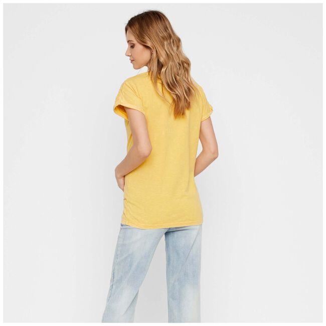 Mamalicious zwangerschaps T-shirt - Gold