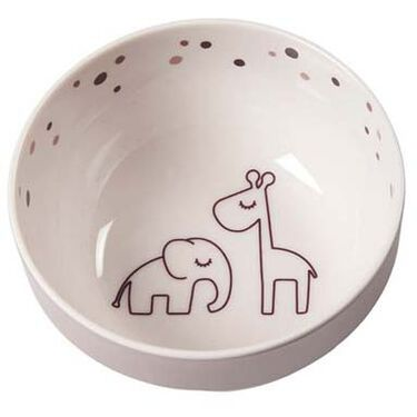 Done By Deer Yummy mini bowl Dreamy dots - Powder Pink