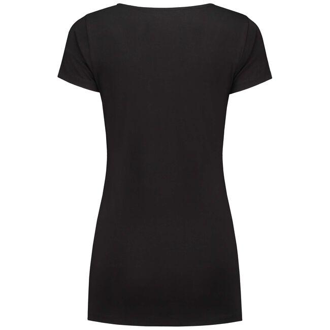 Prénatal zwangerschaps T-shirt - Black