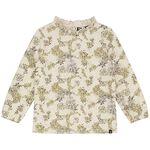 Sweet Petit baby meisjes T-shirt Leia - Soft Ecru Melange