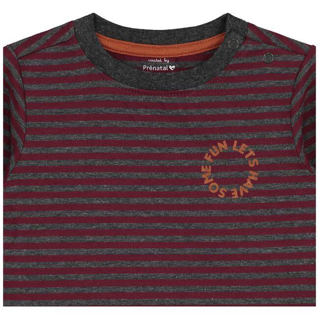 Prénatal peuter jongens t-shirt - Dark Redshade