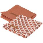 Little Dutch swaddle - Deep Orange