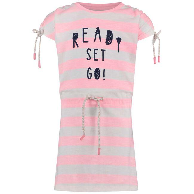 Noppies peuter meisjes jurk - Neon Pink