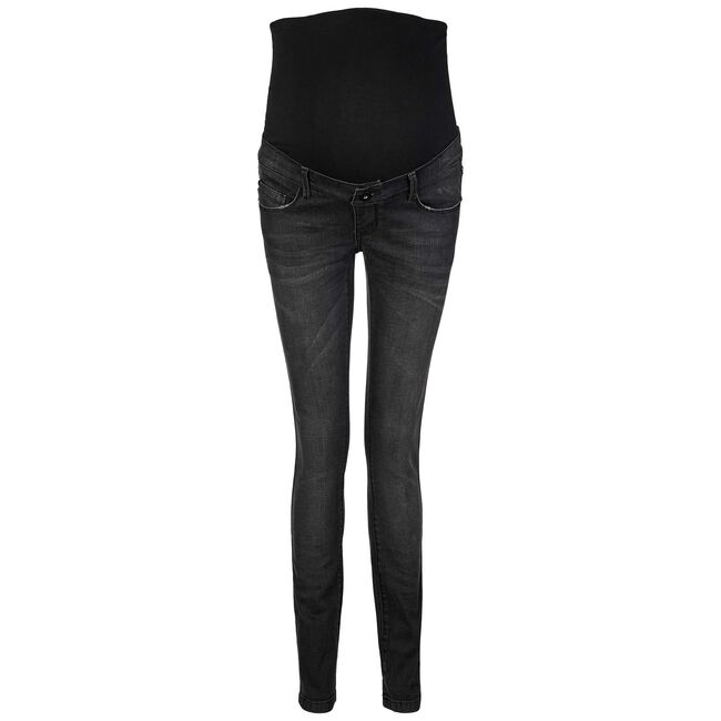 Supermom zwangerschapsjeans - Grey/Black Denim