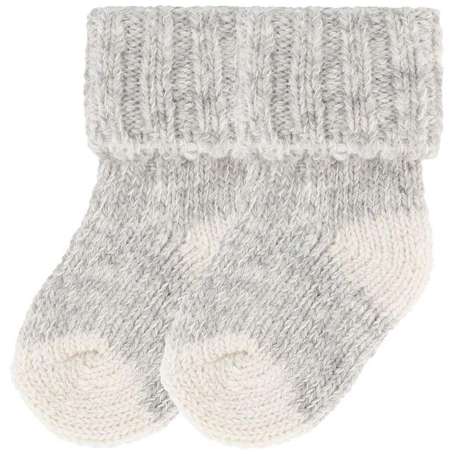 Prénatal unisex sokken - Grey Melee Light