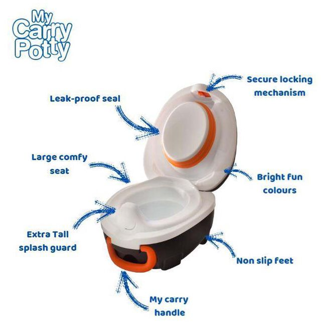 Jippie's My Carry Potty - Multi