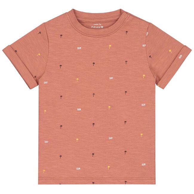 Prénatal baby t-shirt jongens - Deep Orange