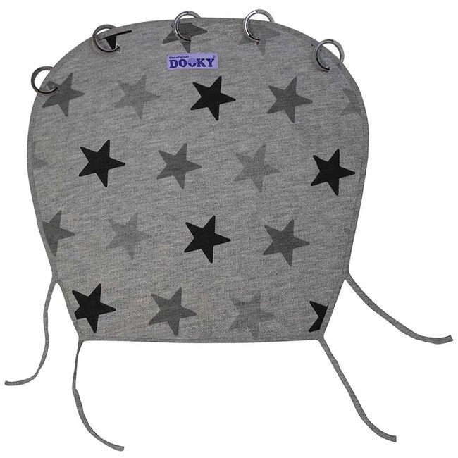 Dooky cover zonnescherm - Grey Stars