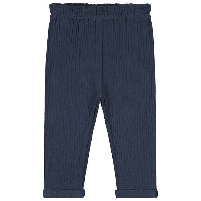Prénatal baby meisjes broek - Navy Blue