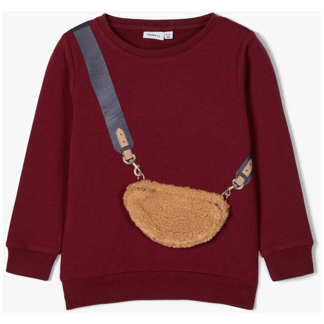 Name it peuter sweater - Darkred