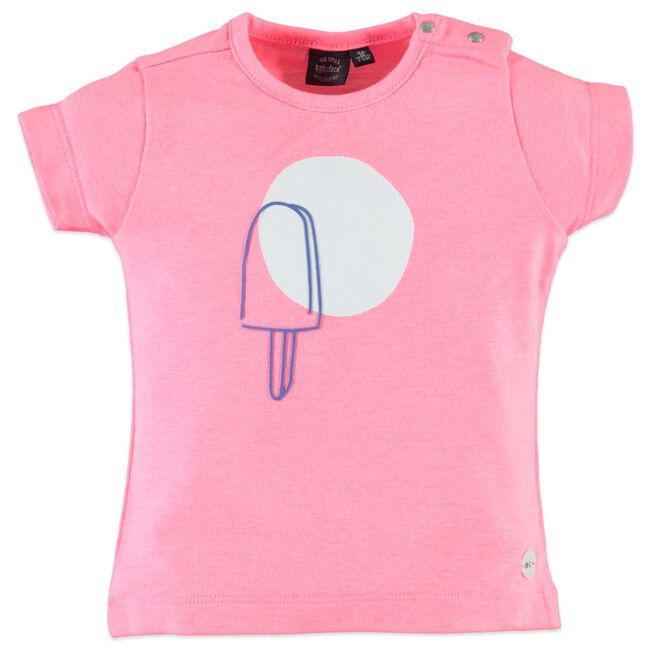 Babyface peuter meisjes t-shirt - Neon Pink