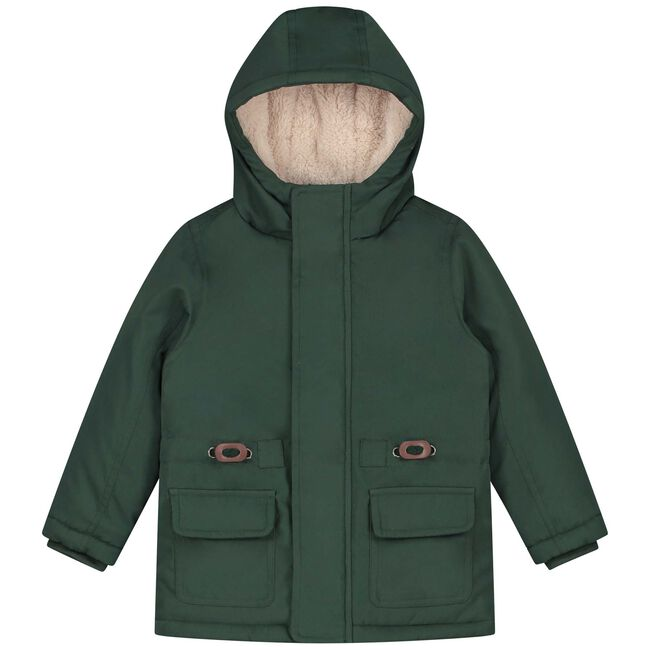 Prénatal peuter jongens winterjas - Bottle Green