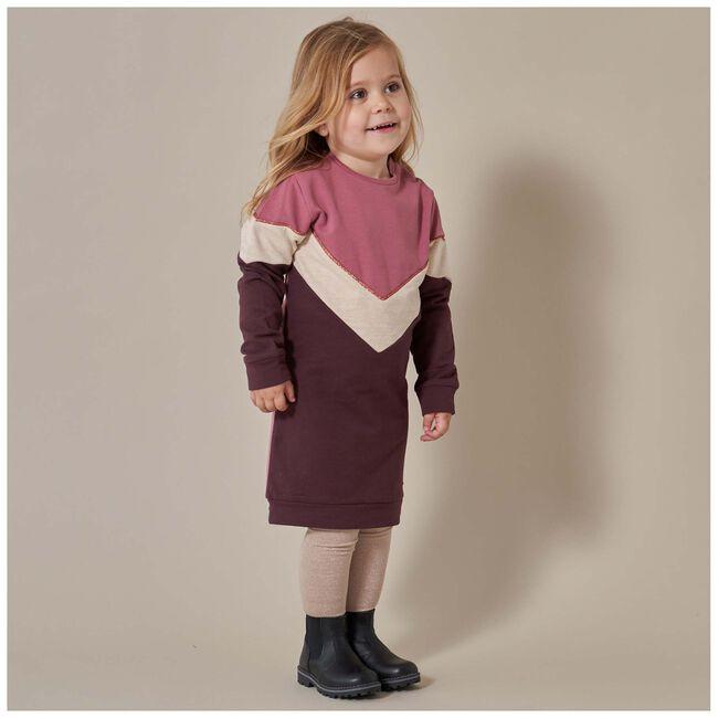 Prénatal peuter meisjes jurk - Pinkshade
