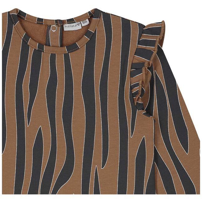 Prénatal peuter meisjes jurk - Brown Shade