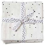 Done by Deer hydrofiele luier dreamy dots - Off-White