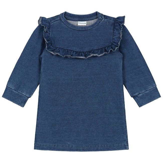 Prenatal baby meisjes jurk - Denim