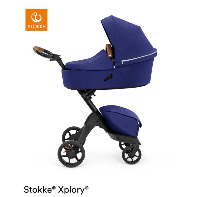 Stokke Xplory X reiswieg - Royal Blue
