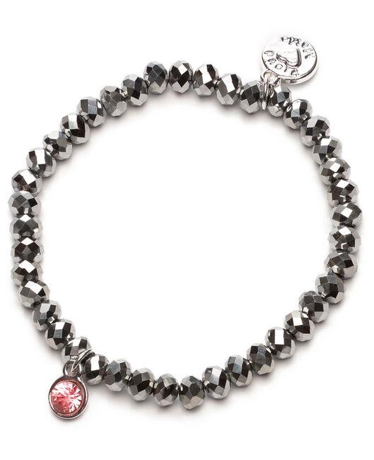 Proud MaMa armband zilver rz beads - Silver
