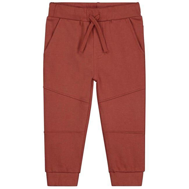 Prénatal peuter jongens broek - Dark Brown Red