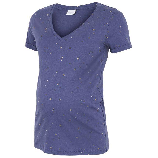 Mamalicious zwangerschaps T-shirt - Blue