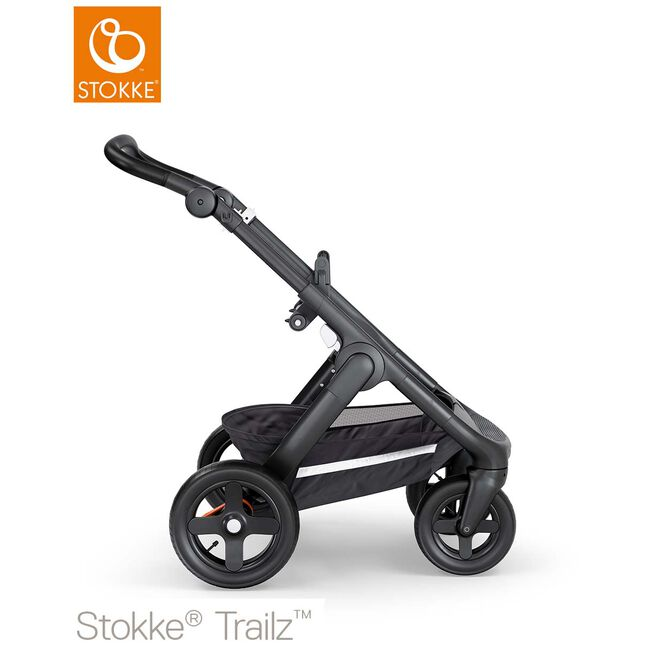 Stokke Trailz Terrain frame - Black