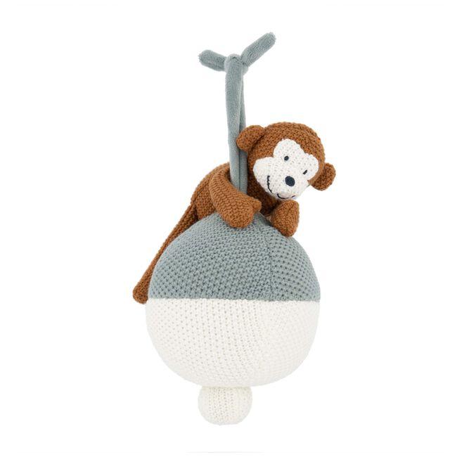 Prenatal muziekdoosje little knits - Midgreen