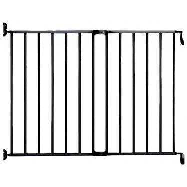 Noma Extending Metal Gate traphek zwart -