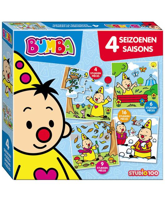 Bumba puzzel vier seizoenen -