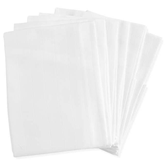 Prenatal hydrofiel luier wit 6 stuks - White