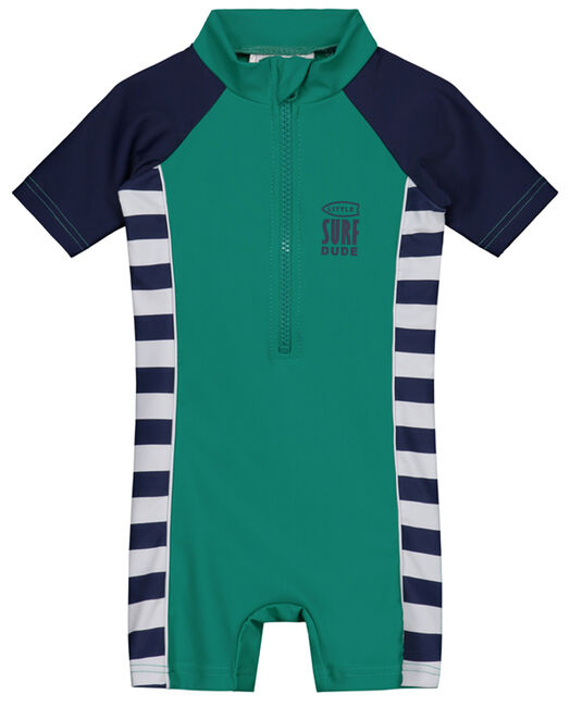 aa064748986889 Prenatal jongens UV zwempak - Navy Blue