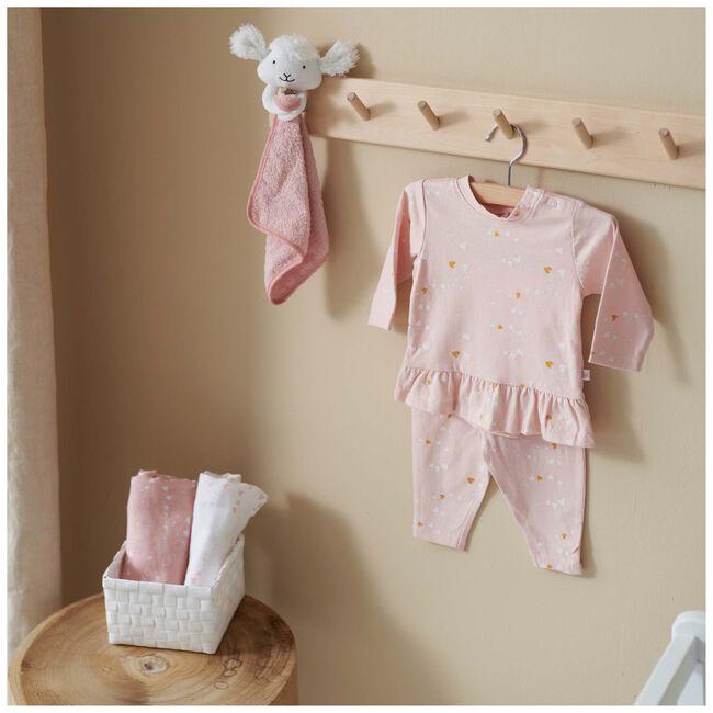 Prénatal baby pyjama - Skin Piink