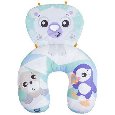 Playgro Polar Pals tummy time activity pillow -