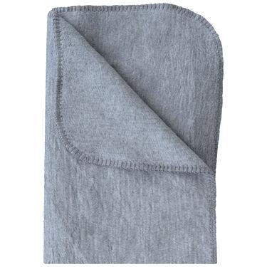 Prénatal ledikantdeken grijs melange -